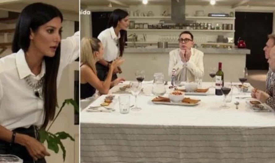 Divina Comida: Silvina Escudero llegó una hora tarde y gritándole a Polino