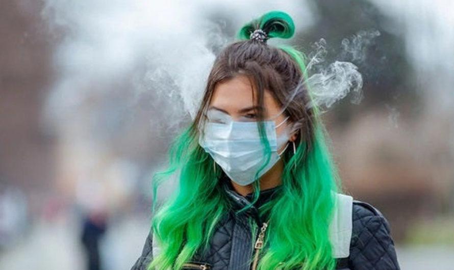 La aterradora relación entre el cigarrillo electrónico y el coronavirus