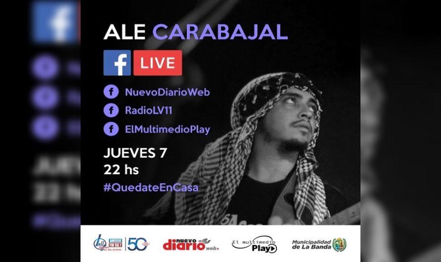 Ale Carabajalbrindará un show exclusivo a través de El Multimedio Play