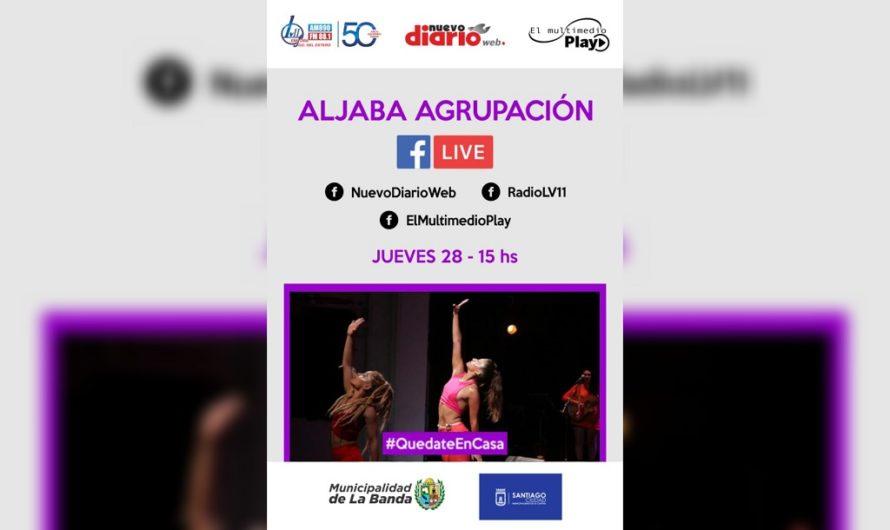 La agrupación ALJABA brindará un exclusivo show a través de El Multimedio Play