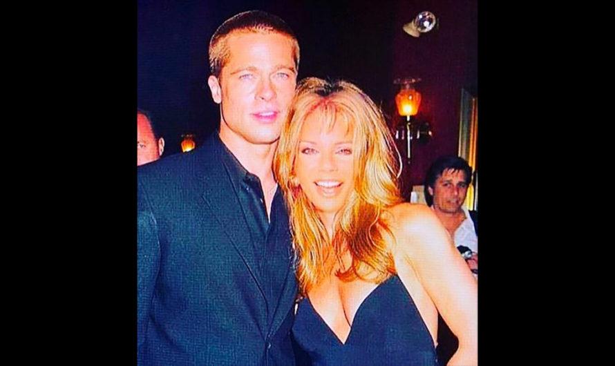 ¿Graciela Alfano tuvo una aventura con Brad Pitt?