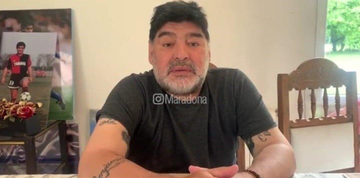 Maradona desheredó a Dalma y Gianinna (a través de un video)