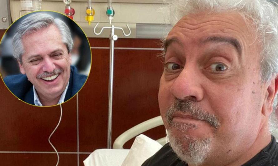 Coco Sily recibió el alta médica y Alberto Fernández se comunicó con él
