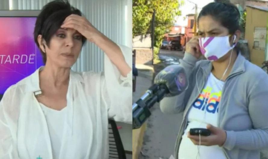 Mónica Gutiérrez protagonizó un incómodo momento en vivo: mirá el video