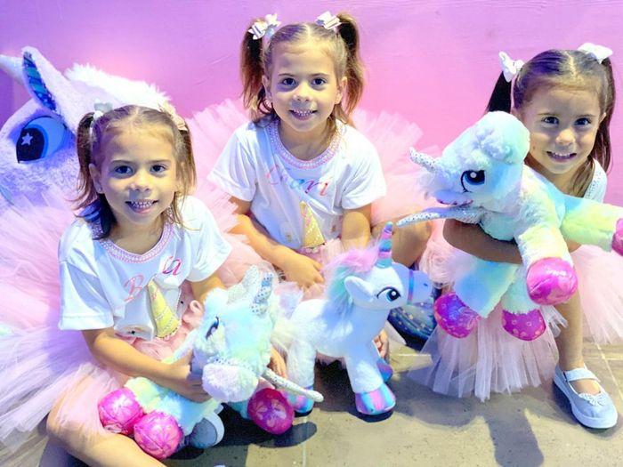 Cinthia Fernández tiró la casa por la ventana y festejó el cumple de su hija menor