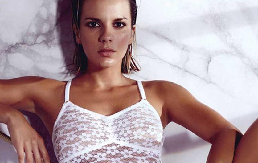 """La foto de Gimena Accardi en su habitación consiguió miles de """"Likes"""": está de espalda y con poca ropa"""