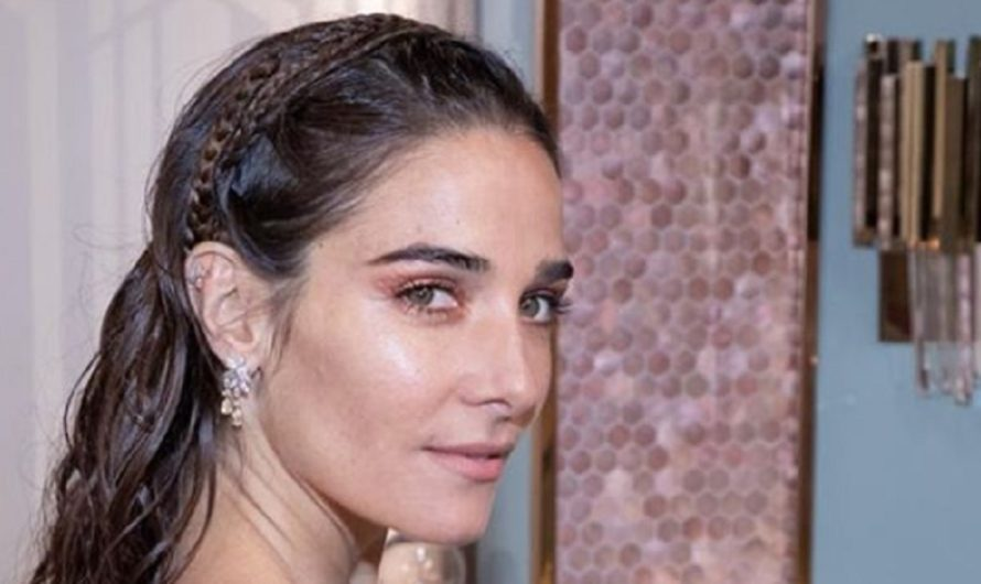 """""""Indomable como yo"""": el vestido de un sólo hombro que Juana Viale lució en La Noche de Mirtha [FOTOS]"""