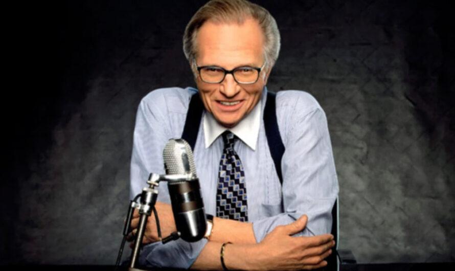 Falleció el legendario presentador Larry King, a los 87 años