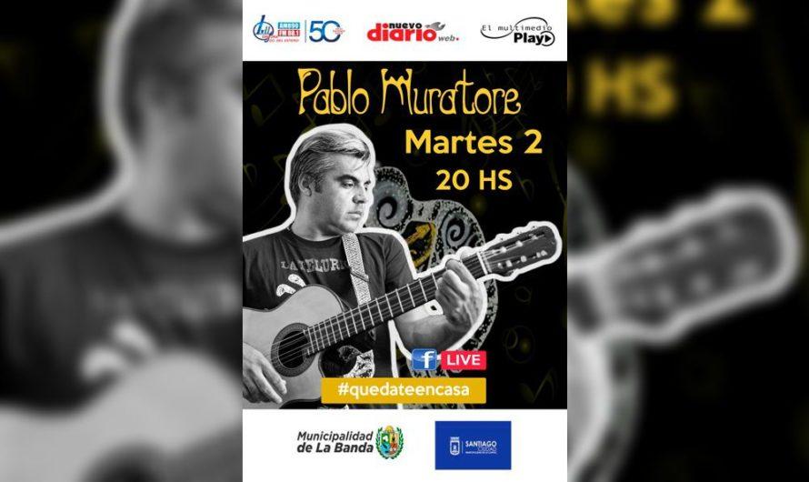 Pablo Muratore promete un imperdible show a ritmo de chacareras