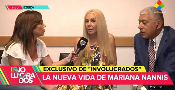 "Mariana Nannis contra Claudio Caniggia: ""Si me denuncias, te ira mal soy amigo de Macri»"