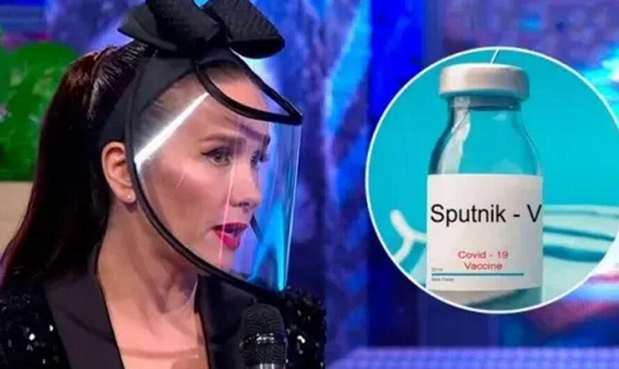 Oreiro a favor de la vacuna Sputnik por su amor a Rusia