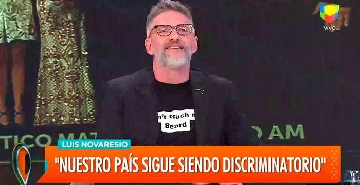 Luis Novaresio contó que lo amenazaron si hablaba sobre su homosexualidad