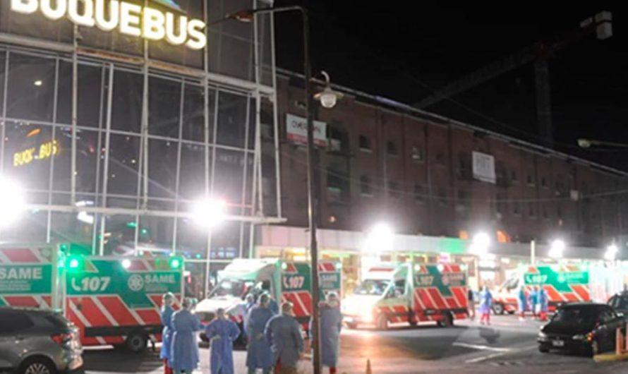Hay 400 personas en aislamiento por imprudente que subió a Buquebús siendo positivo en COVID-19