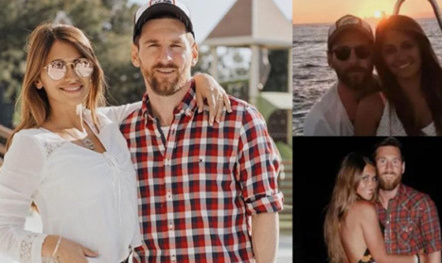 """Enamoradísima, Antonela Roccuzzo a Lionel Messi: """"Felicidades al amor de mi vida"""""""
