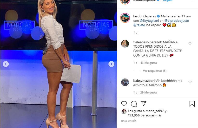 Sol Pérez: «No quiero ser la chica tonta, quiero ser como Cristina Pérez o más»