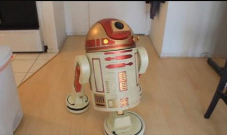 [VIDEO] La aspiradora que es igual a R2-D2, el robot de Star Wars