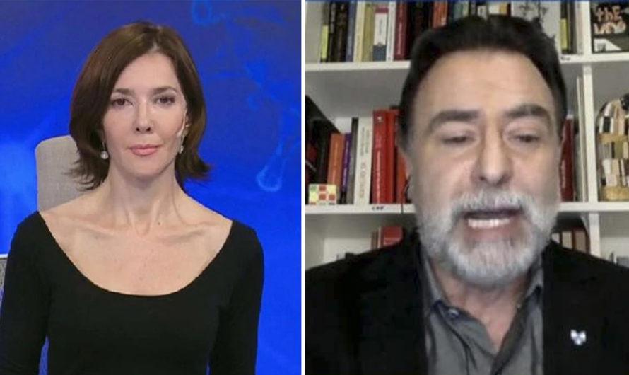 Cristina Pérez intentó culpar al Presidente por las agresiones en la marcha y le salió mal