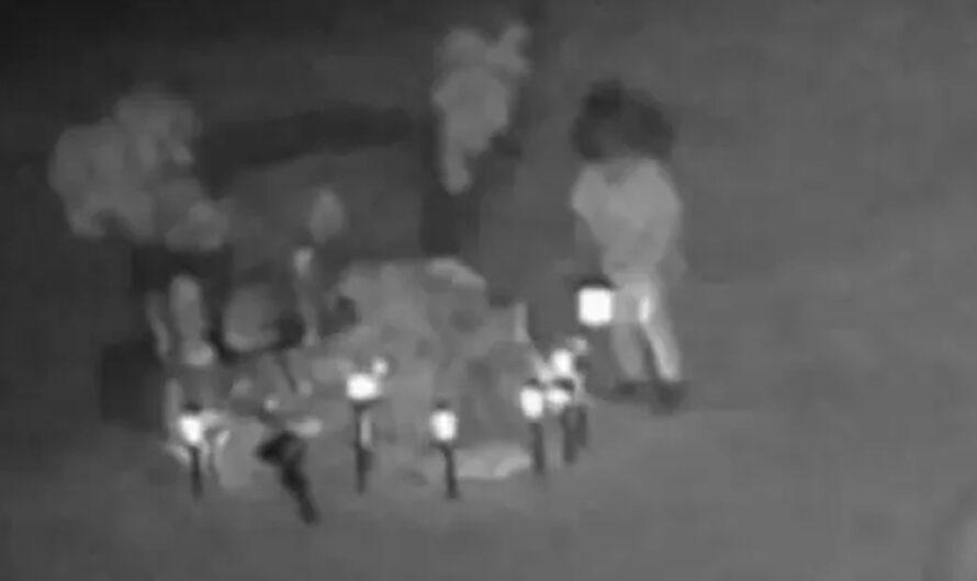 Filmó fantasma en cementerio y asegura que es su hija asesinada [VIDEO]
