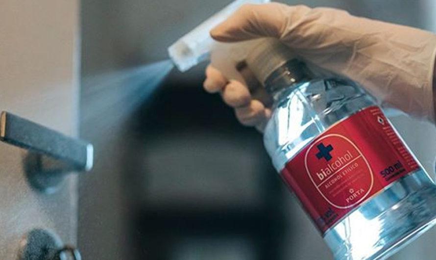 Coronavirus: por qué el alcohol puro y otros desinfectantes no lo eliminan