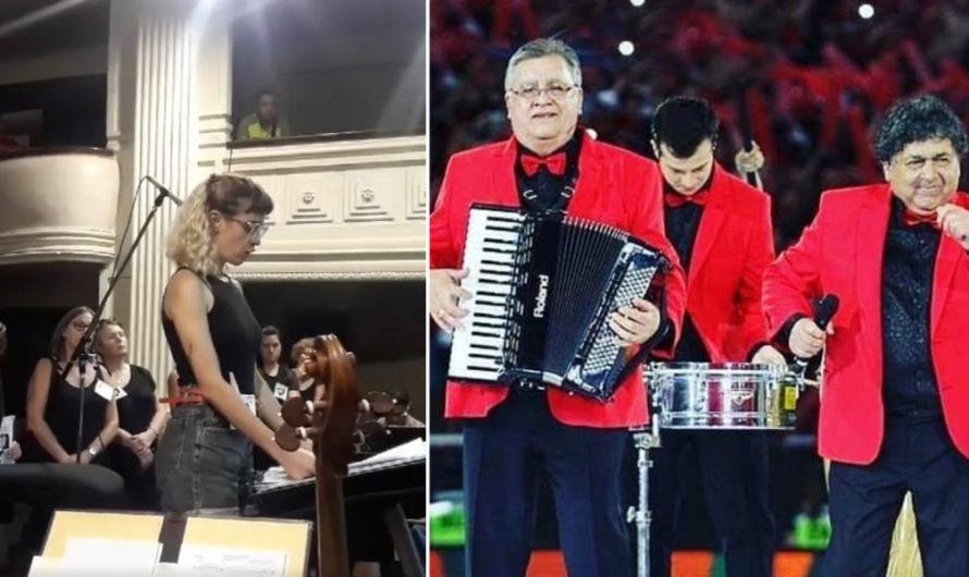 Orquesta femenina se negó a tocar con Los Palmeras