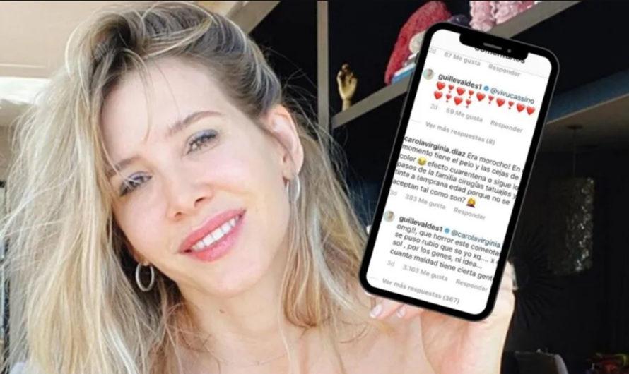 Guillermina Valdés arremetió contra una usuaria: «Tu hijo era morocho, sigue los pasos de su familia»