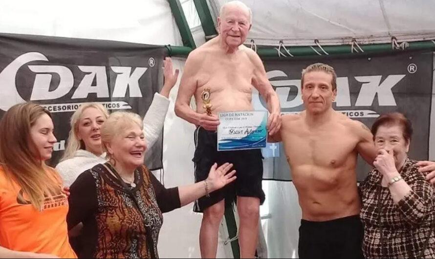 Cumplió 99 años, entrena en su casa y espera volver a sus clases de Aquagym [VIDEO]