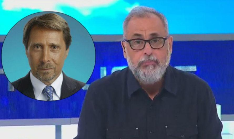 Jorge Rial: «A Feinmann a veces me dan ganas de sacarlo de la pantalla»