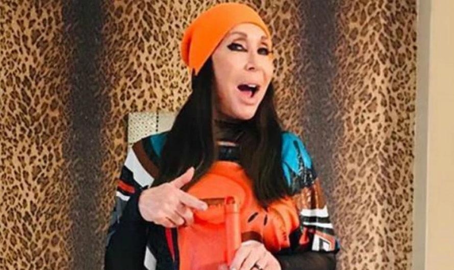 Moria Casán será jurado del Cantando y ya destrozó a una participante