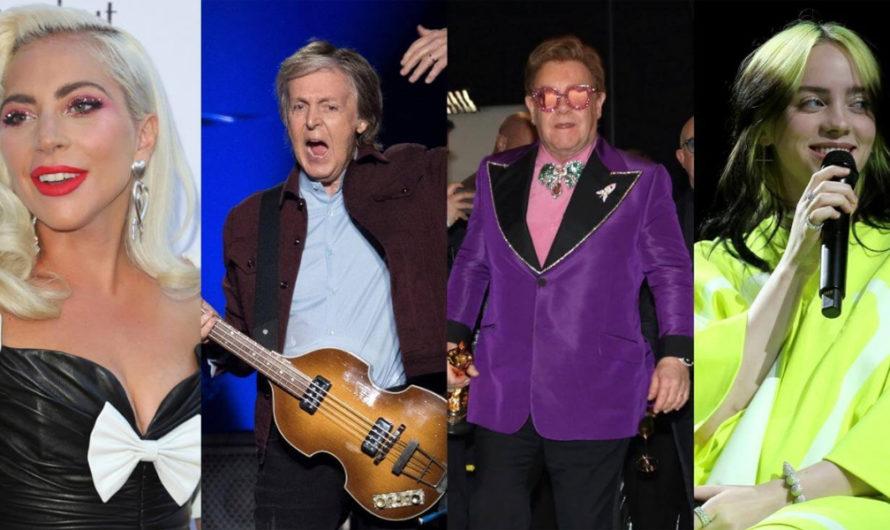 Elton John y Paul McCartney tocarán junto a J Balvin y Maluma en un programa especia