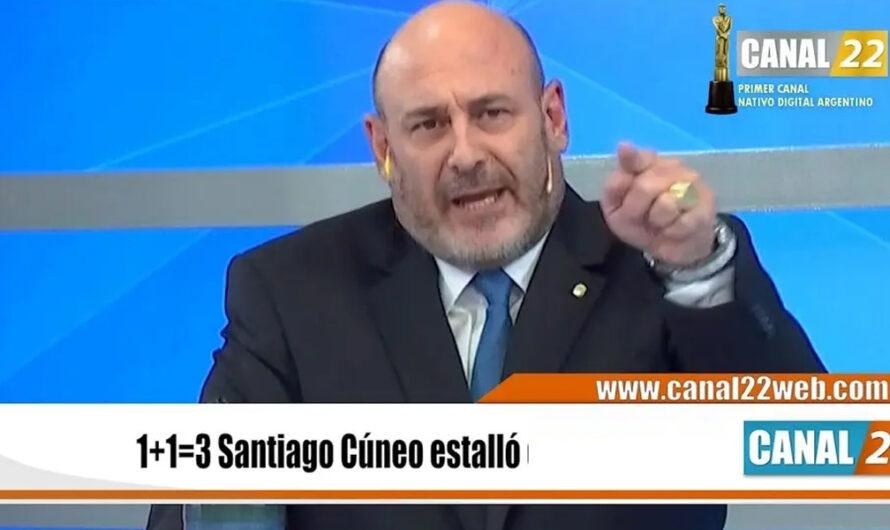 """Santiago Cúneo sacado contra Alberto Fernández: """"Pedazo de hijo de…"""" [VIDEO]"""