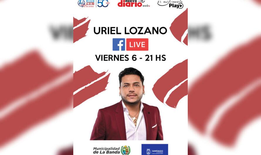 No te pierdas el show exclusivo de Uriel Lozano para El Multimedio