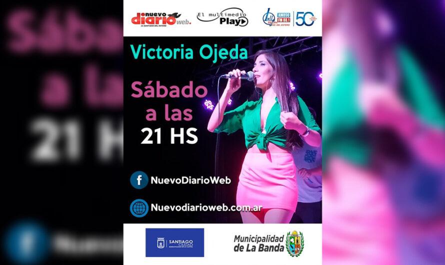 El Multimedio te trae el show exclusivo de Victoria Ojeda este sábado 17 a las 21