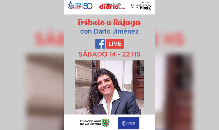 No te pierdas el tributo a «Ráfaga» de Darío Jiménez para El Multimedio