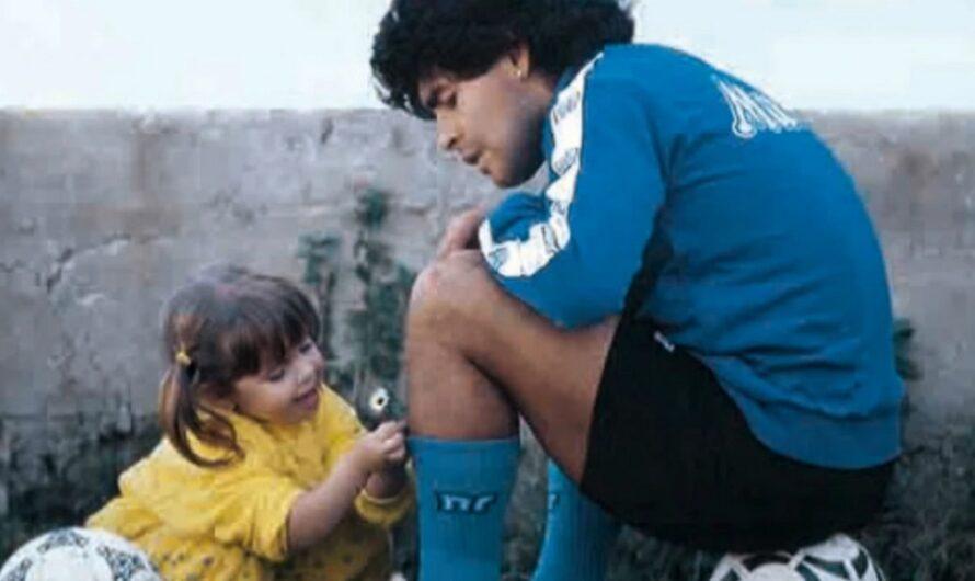 La desgarradora carta de Dalma para despedir a Diego Maradona
