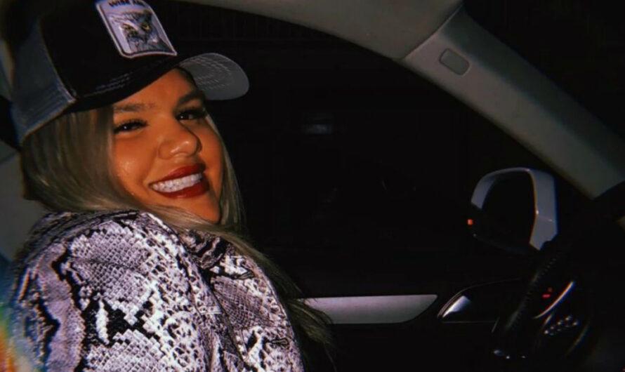 Morena Rial sufrió un accidente en la ruta: Chocó su Audi contra un guardarail