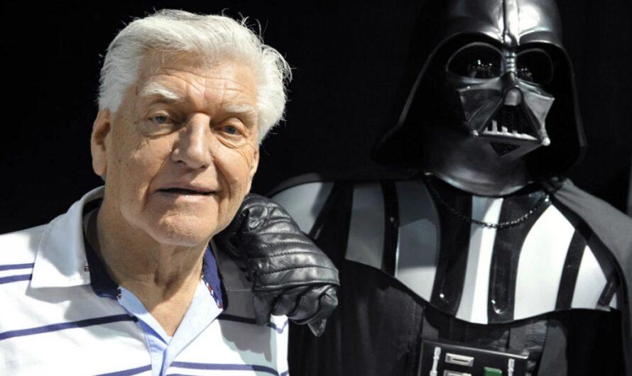 Murió Dave Prowse, el actor que hizo de Darth Vader en Star Wars