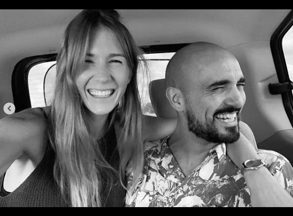 Abel Pintos conmovió con el mensaje a su novia por San Valentín