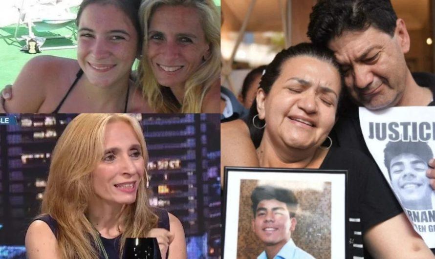 La estremecedora charla entre la madre de Ángeles Rawson y los padres de Facundo Báez Sosa