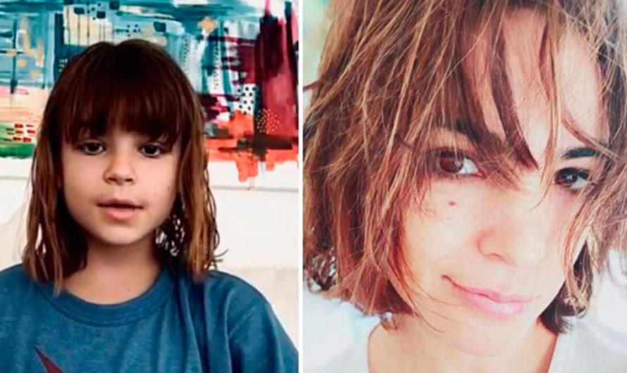 Agustina Cherri sorprendió con su look y su parecido con su hija