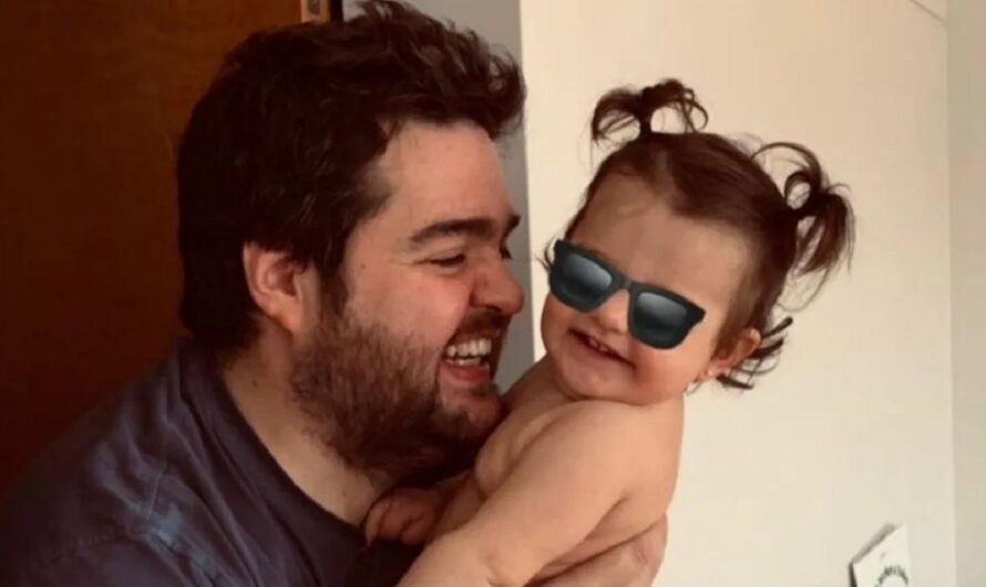 La tierna imagen de Darío Barassi y su hija en el circo: «Receta para una buena cara de felicidad»