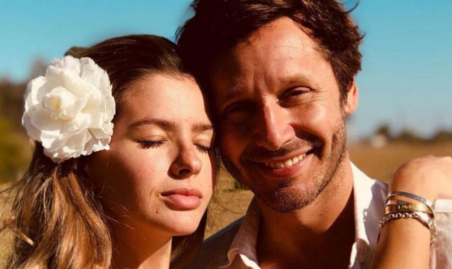 Benjamín Vicuña compartió una foto de Amancio con una tierna dedicatoria por su primer año