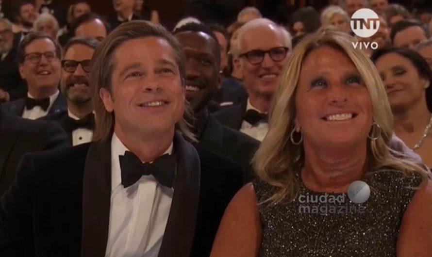 ¿Quién es la misteriosa mujer que tuvo el honor de acompañar a Brad Pitt en los Oscar 2020?