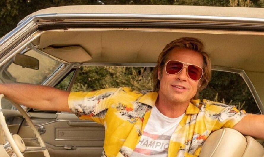 La reaparición de Brad Pitt: se dejó el cabello largo, barba, canas y se mostró junto a Jennifer Aniston