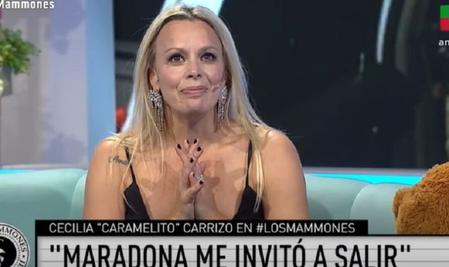"""Caramelito Carrizo rechazó a Diego Maradona cuando estaba casado con Villafañe: «Me pareció que no podíamos hacerlo"""""""