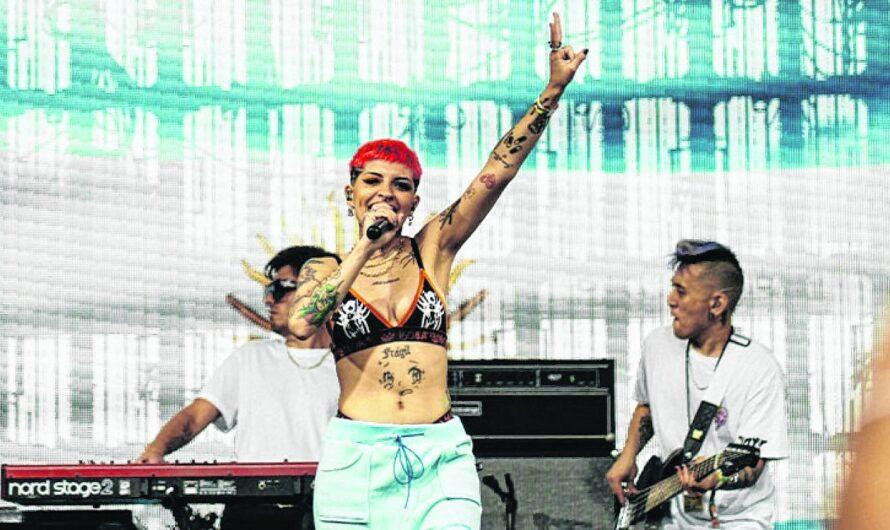 Cazzu, la única latina en el festival estadounidense Made in América