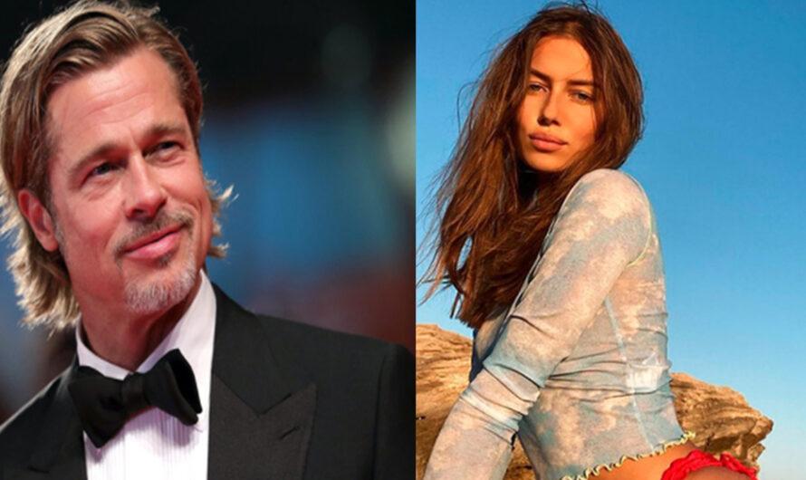 Brad Pritt y su novia alemana Nicole Poturalski disfrutan de su romance en la mansión francesa donde se casó con Angelina