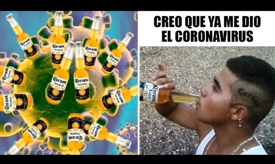 """Mazazo y caída en ventas de la marca de cerveza """"Corona"""" por culpa del coronavirus"""