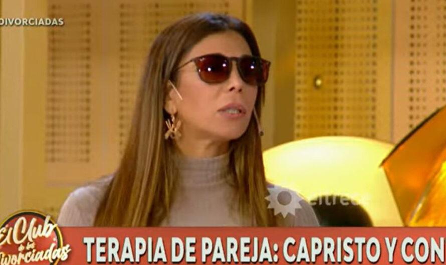 ¿Qué le pasa? Ximena Capristo contó por qué no se saca los lentes oscuros cuando aparece en tele