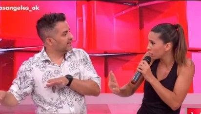 """Ángel de Brito encaró a Cinthia Fernández en vivo: """"¿Qué te pasó que me bardeaste?"""" [VIDEO]"""