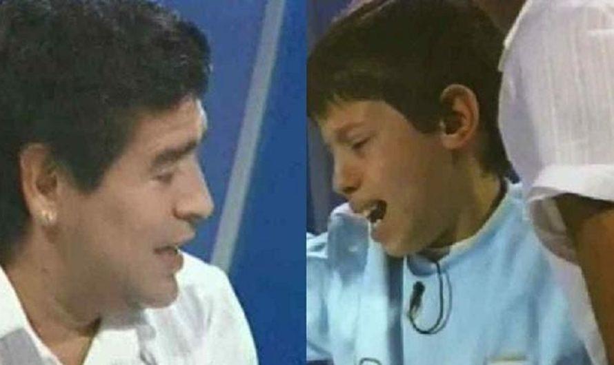 Abrazó a Diego Maradona cuando tenía 9 años y su vida cambió para siempre [VIDEO]